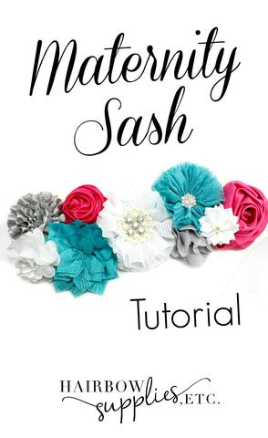 Maternity Sash Tutorial