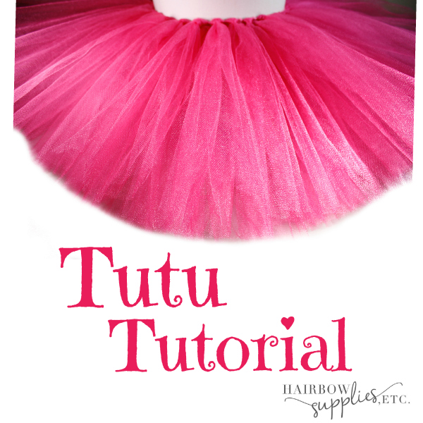 How to Make a Fluffy Tutu