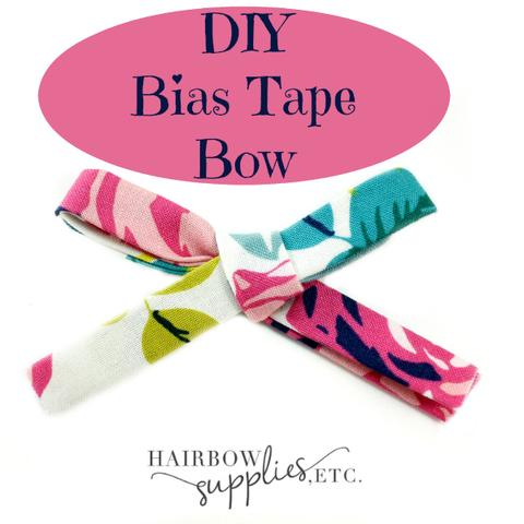 Bias Tape Hair Bow
