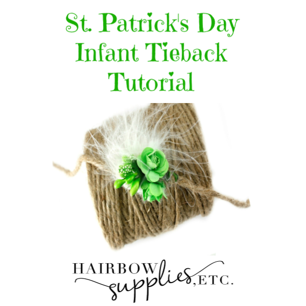 St. Patrick's Day Tieback Tutorial