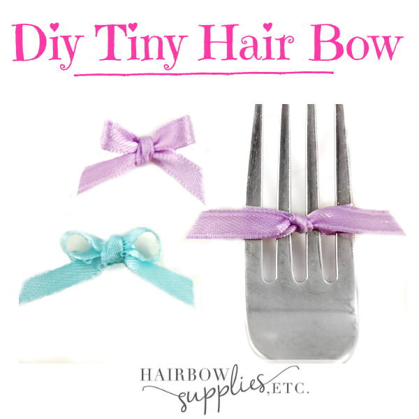 Tiny Hair Bow